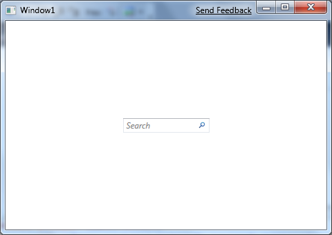 WPF Search Text Box | David's Playground